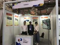 江苏富日精密机械参加印度包装展